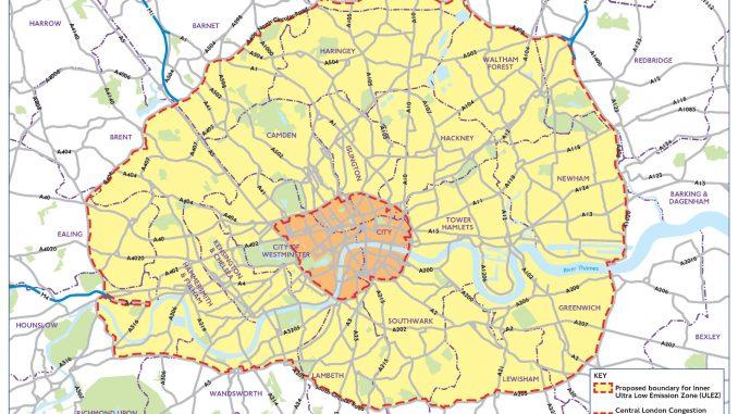 Ulez map