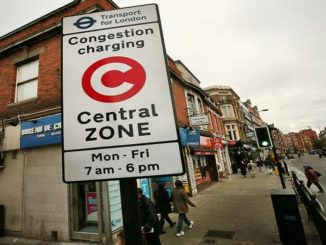 Congestion charge London