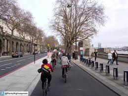 Cycle lane congestion