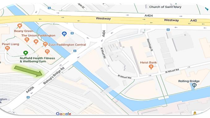 Navitip #1 How to set down/pick up at Paddington Station –
