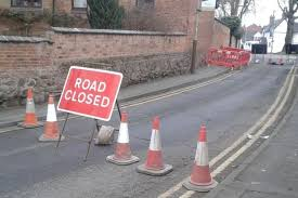 Road closures congestion