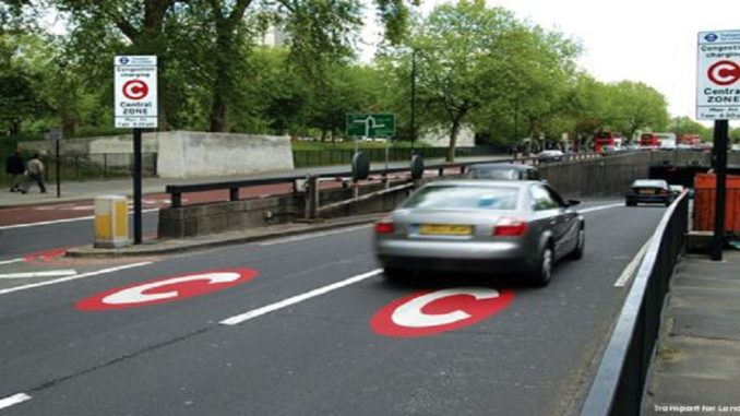 Congestion charge for Private Hire