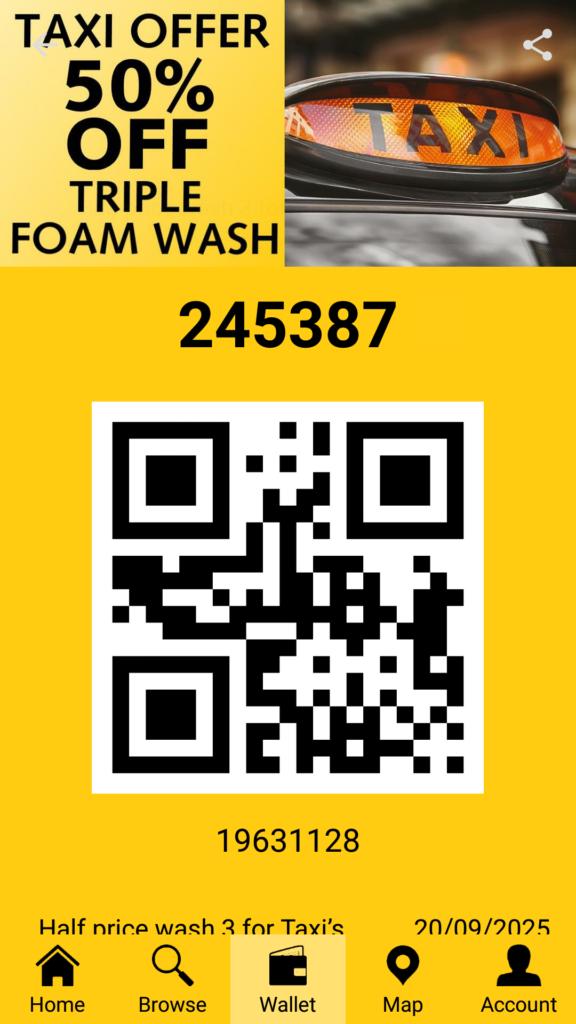 IMO car wash app