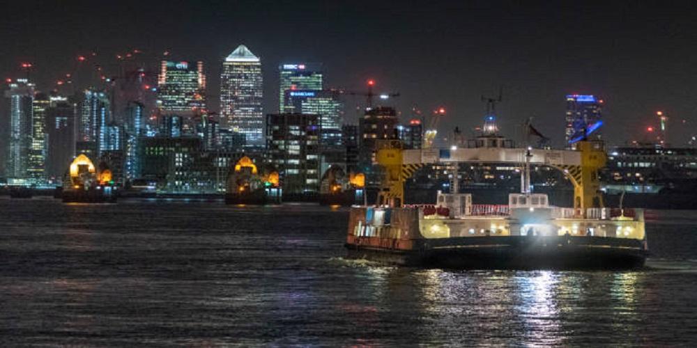 Woolwich ferry, a shortcut forgotten