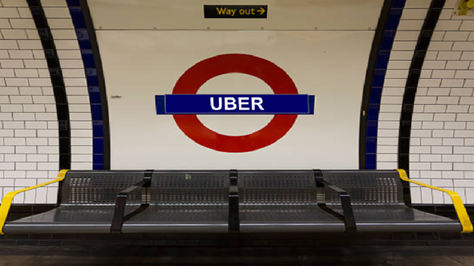 Uber's Licence revoked by TfL
