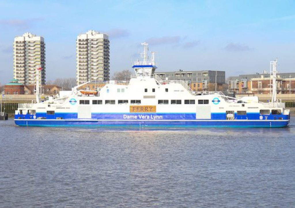 Woolwich ferry shortcut
