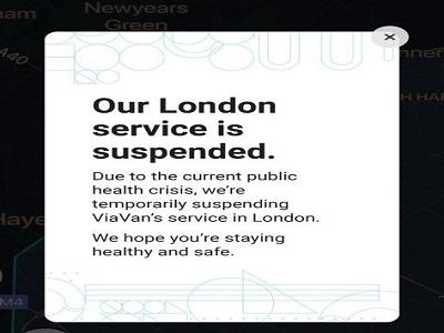 ViaVan ceases operations in London