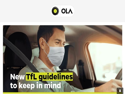 Ola and TfL Licence