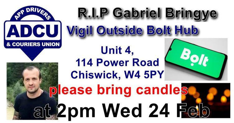 Gabriel Bringye Vigil