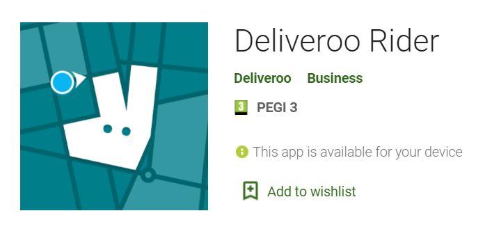 Deliveroo Driver App